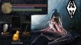 Skyrim - How to set DarkSouls UI
