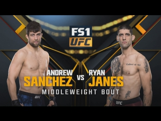 THE ULTIMATE FIGHTER FINAL Andrew Sanchez vs Ryan Janes