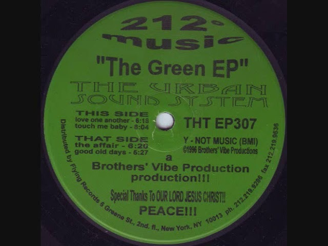 The Urban Sound System - Good Old Days (The Green EP)