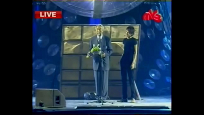 ✩ Вручение премии Муз ТВ 2007 Виктору Цою