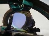 Сирия. Полёт на МиГ-23 из кабины пилота 01102017