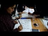 Мастер-класс по каллиграфии и бурят-монгольской письменности