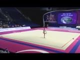 Александра Солдатова - булавы (многоборье) Гран-при 2018 Холон