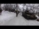 Они брали Углегорск.  Архивное видео, в т.ч. спецназа ГРУ ДНР.