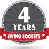 4 years Jiving Rockets - Rock-n-Roll Birthday