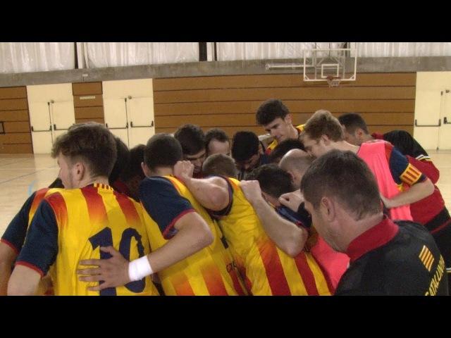 2n Partit Preparatori Catalunya sub 19 - Argentina sub 18 de Futbol Sala