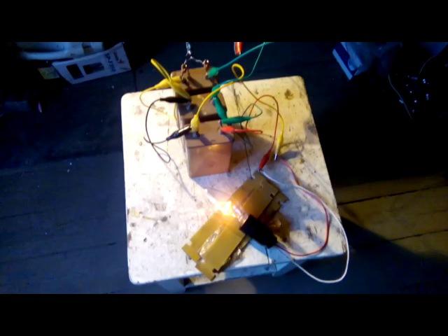 Беспроводная передача энергии и её съём. » Freewka.com - Смотреть онлайн в хорощем качестве