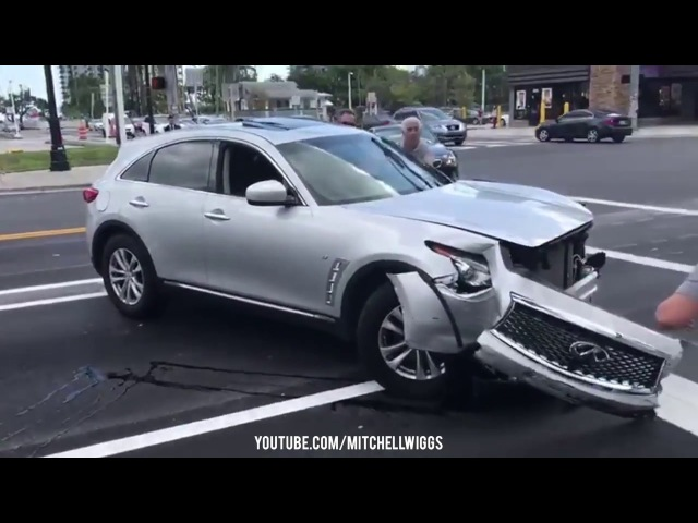 WILD Hit Run Suspect Tries To Flee, Gets Windows Busted!