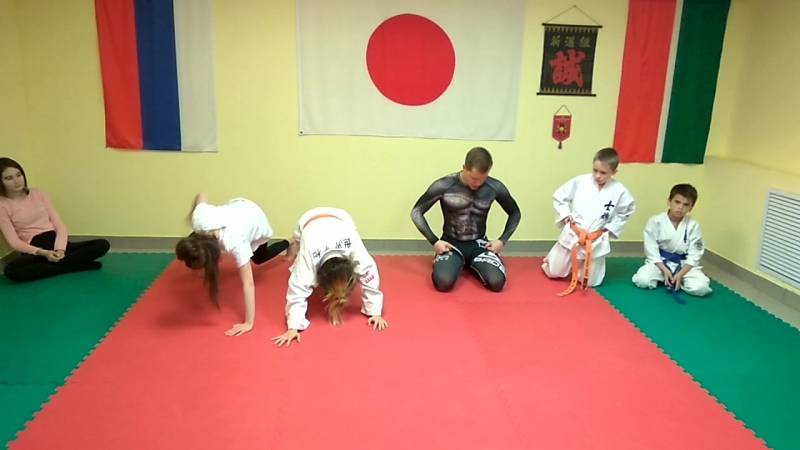 Grappling Class in Underground Crossroads Dojo 21 05 2018 4