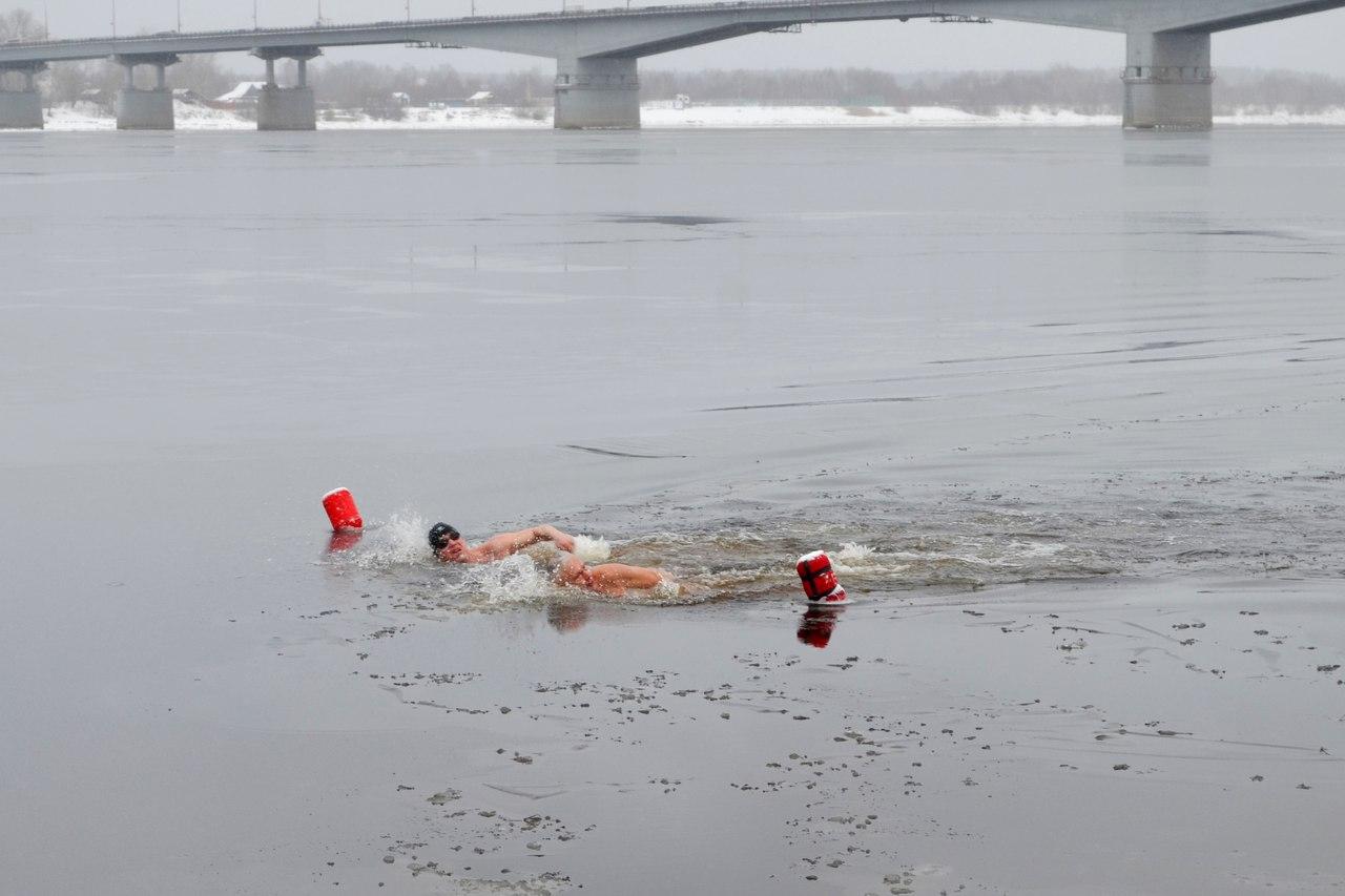 Чемпионат Ленинского р-на г. Перми по зимнему плаванию. 2017 г.