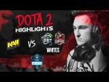 NAVI Dota2 Highlights vs Whites, Team Spirit, Team Empire @ ESL One Genting 2018 CIS qualifier