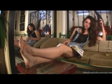 Goddess Amanda show sexy feet Foot worship Foot fetish Фут фетиш #femdom #mistress