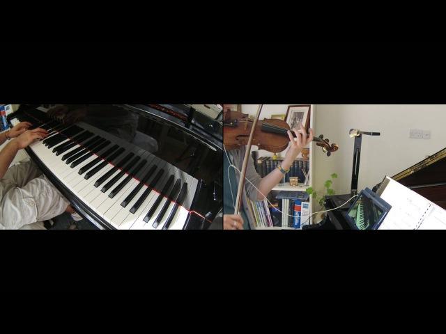 'Sheeta's Decision' (Shiita no Ketsui): Laputa Castle in the Sky, Violin Piano Duet