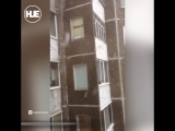 В Перми пошел снег