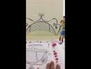 Живая раскраска Девочки из Эквестрии