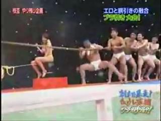 Очередное гениальное японское тв-шоу