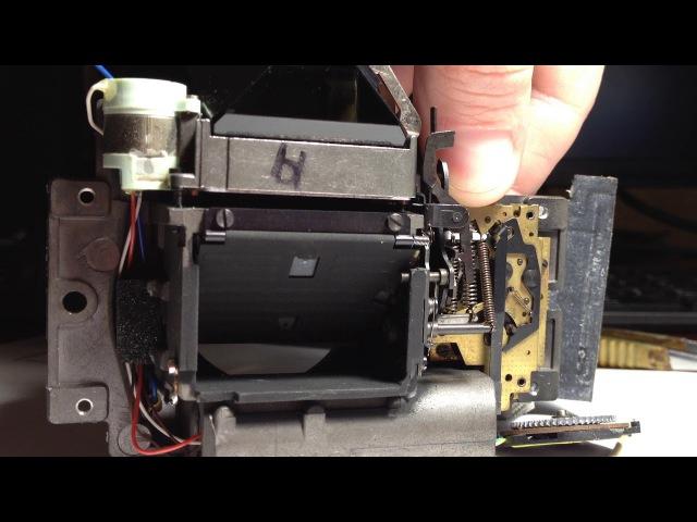 Praktica MLT 5 mirror lift work