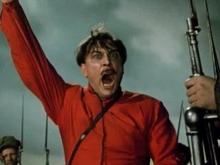 Хождение по мукам.  Восемнадцатый год (1958). Бой  11-й  армии красных с белыми