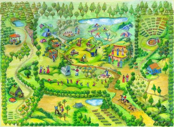 Родовые поместья России как вариант инновационной экологической экономики будущего Земли!, изображение №17