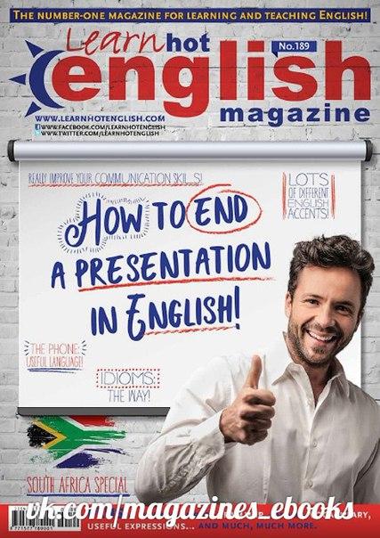 Learn Hot English ; No 189 - February 2018