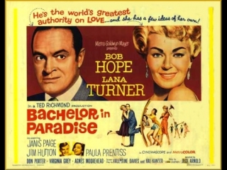 Bachelor in Paradise (1961)  Bob Hope,  Lana Turner,  Janis Paige