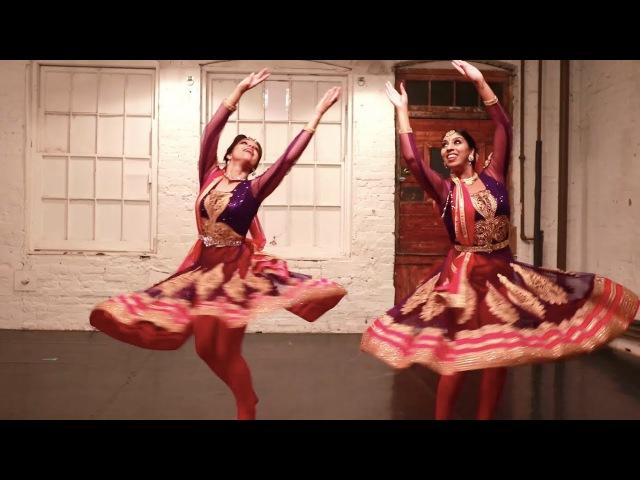 MERE RASHKE QAMAR Kathak Fusion Dance Svetlana Tulasi Shereen Ladha