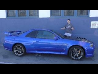 Обзор легального в США R34 Nissan Skyline GT-R (Doug DeMuro на Русском)