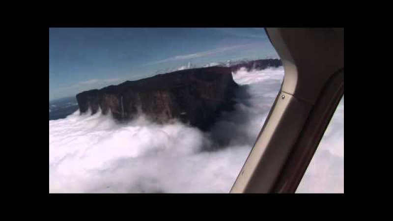 Roraima Isla en el tiempo Bird eye view....