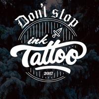 Логотип Don't Stop Ink Tattoo / тату Нижний Новгород