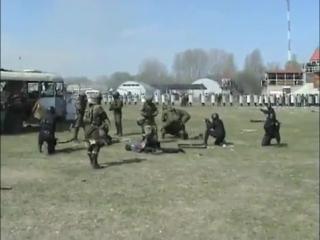 Казахстанский Спецназ. Шайтан палка))))