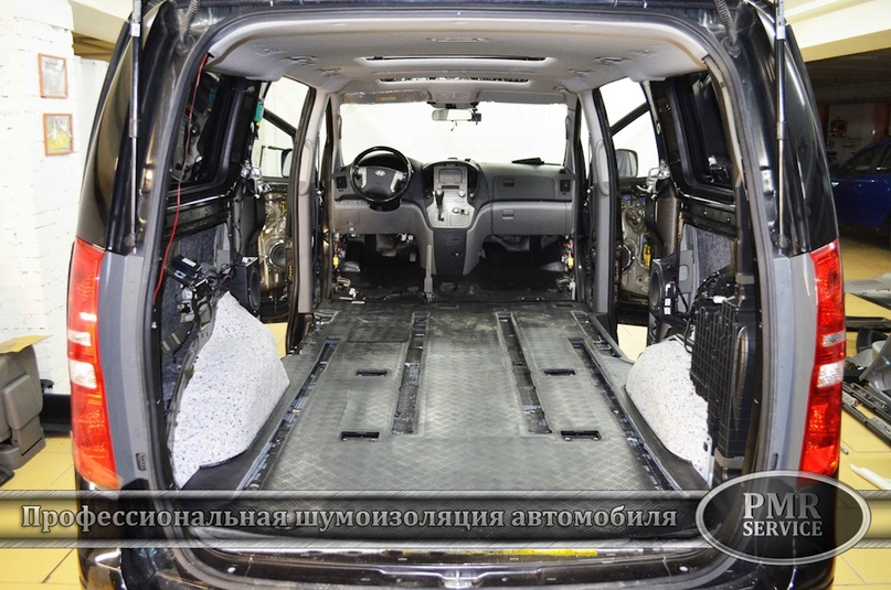Шумоизоляция Hyundai Starex, изображение №13