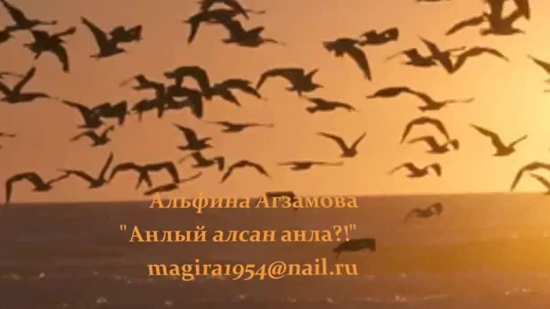 Анлый алсан анла Алфинэ Агзамова