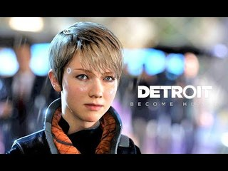 "DETROIT BECOME HUMAN - ""KARA & ALICE"" Smooth Game Movie (Sad but Good choices)"