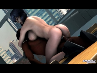 Ghost in the shell motoko kusanagi sfm 3d porn sound