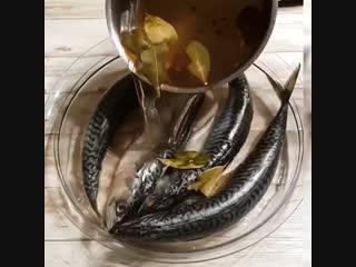 Ну очень вкусная рыбка домашнего приготовления!