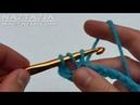 Learn How to Crochet LEFT HAND Part 2 Half Double Crochet Slip Stitch Chain DC HDC SLST