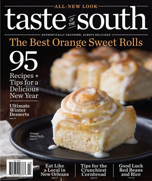 2019-01-01 Taste of the South