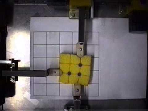 Grasping manipulation of sponge