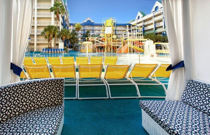 Лучшие отели мира от Soul Travel Holiday Inn Resort Orlando Suites - Waterpark (США), изображение №5