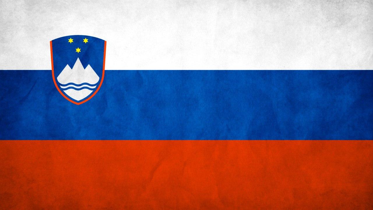 Флаг Словении, биатлон