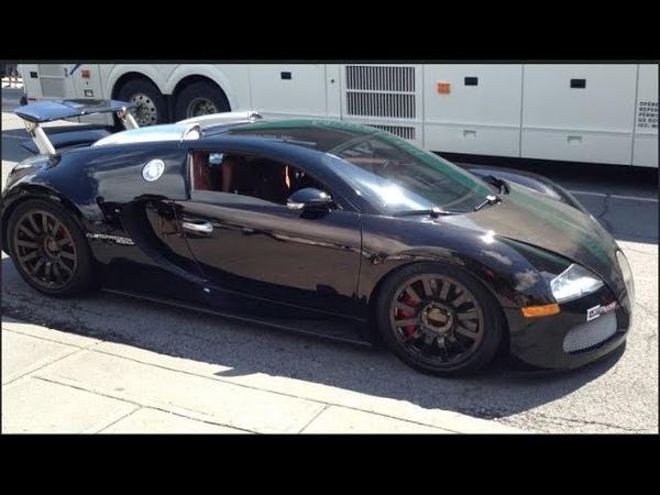 Bugatti Veyron (1500hp) 0-100 kmh in ~1.8s