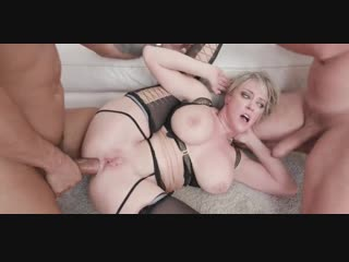 Dee williams rough triple anal and eat cum from ass