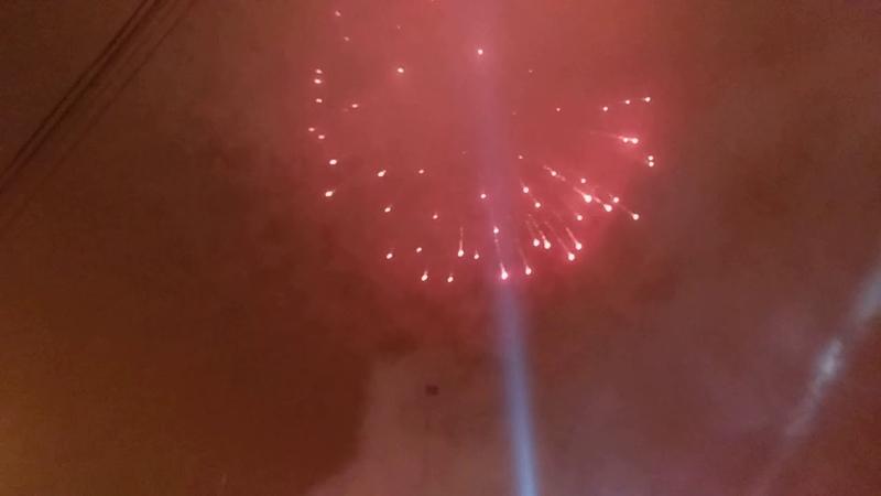 Салюты на Новый год 2019 в Донецке