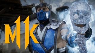 Mortal Kombat 11 — официальный дебютный трейлер геймплея
