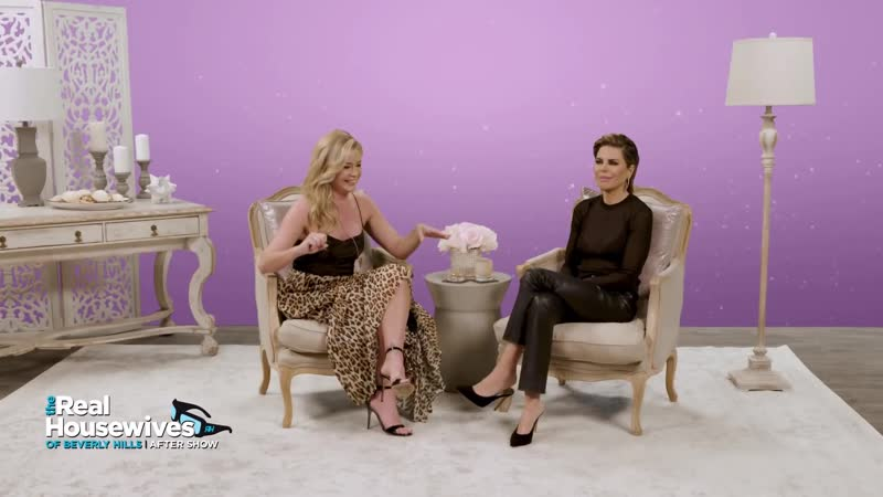 Lisa Talks Repairing Friendship With Kyle _ Denise Embarrasses Aaron ¦ RHOBH After Show (S9 Ep14)