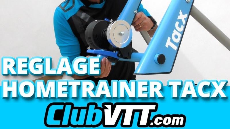 Hometrainer TACX Blue Twist - Montage et réglages du hometrainer - 166