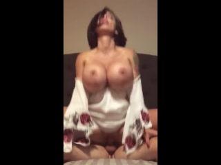 Brittany Elizabeth - Reverse Cowgirl Cock Pop Cum at the End