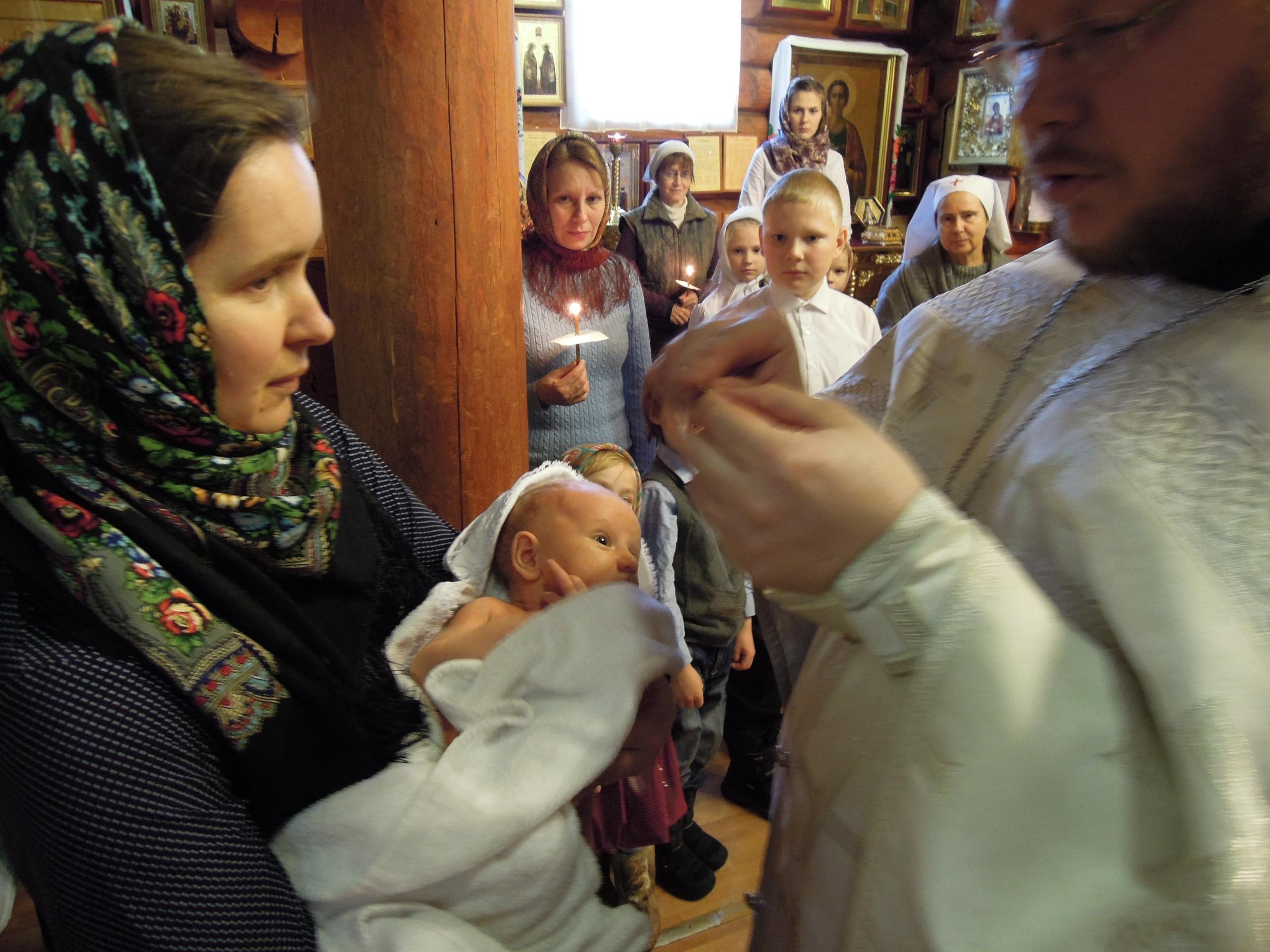Крещение человека – это самый важный день в его жизни.