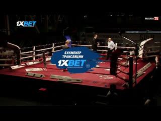 Эльнур Самедов досрочно победил Айка Шахназаряна и завоевал титул WBA Continental
