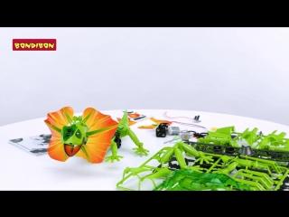 Робот-ящерица - Французские научно-познавательные опыты Науки с Буки BONDIBON